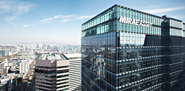 Mirae Asset headquartered in Seoul, South Korea.